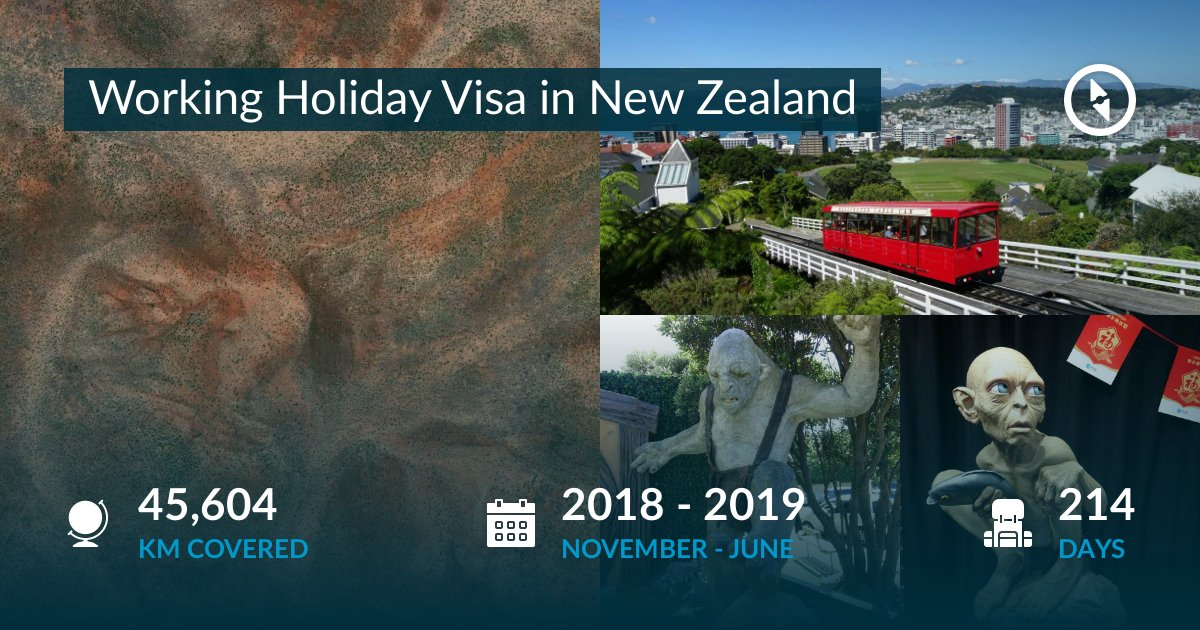 Working Holiday Visa in New Zealand by Théo Plessis - Polarsteps